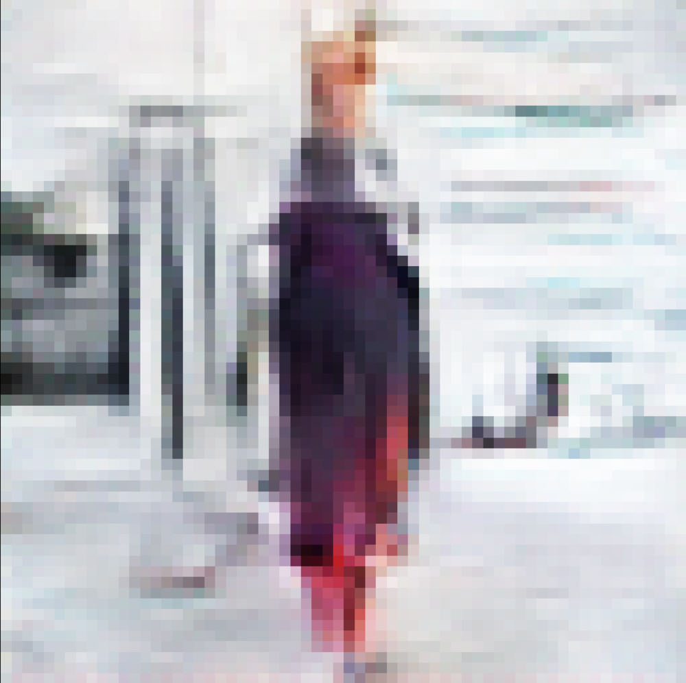 #robotswearingclothes generative fashion blogger images by leanne luce
