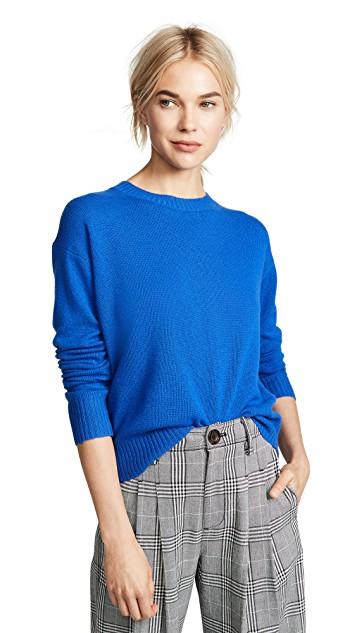 360 cashmere sweater bright blue