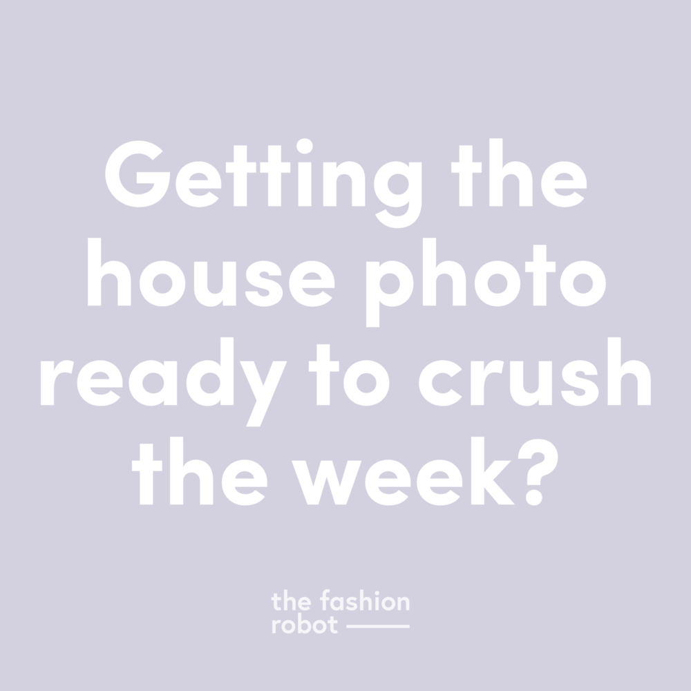 getting the house photo ready to crush the week, caption generated by a markov chain