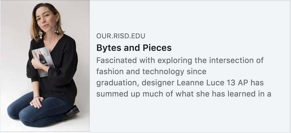 Leanne+Luce+on+RISD+Alumni+Blog+with+Artificial+Intelligence+for+Fashion+Book
