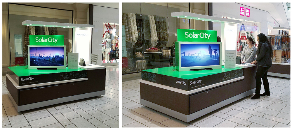 The SolarCity Anthem was used on various platforms such as Facebook, Instagram, Vimeo, and businesses such as Best Buy, Home Depot and selected malls.