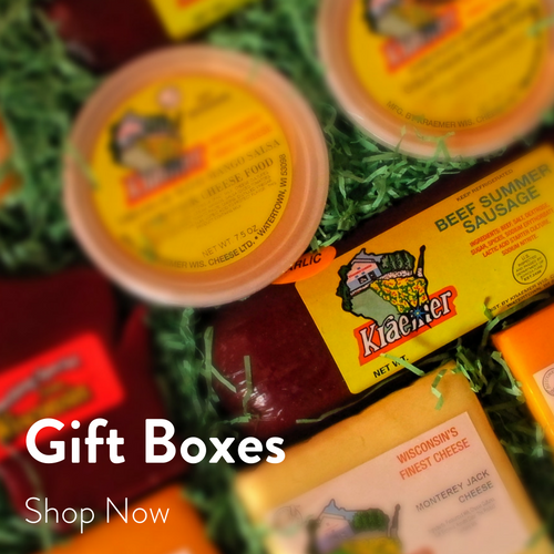 Kraemer Wisconsin Cheese Gift Boxes