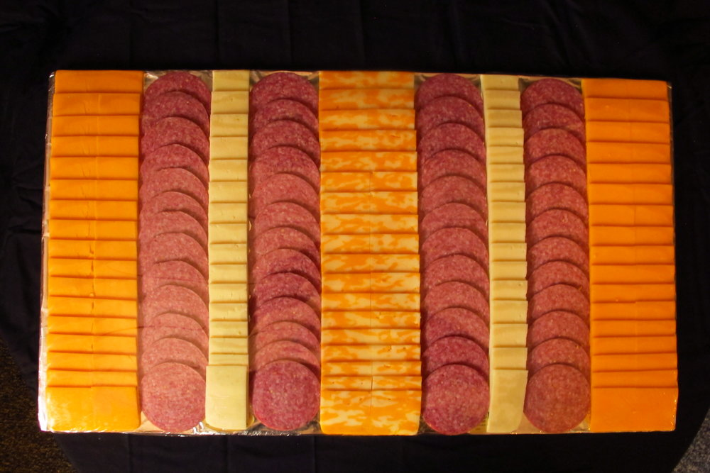 Large Special Order Cheese & Sausage Tray
