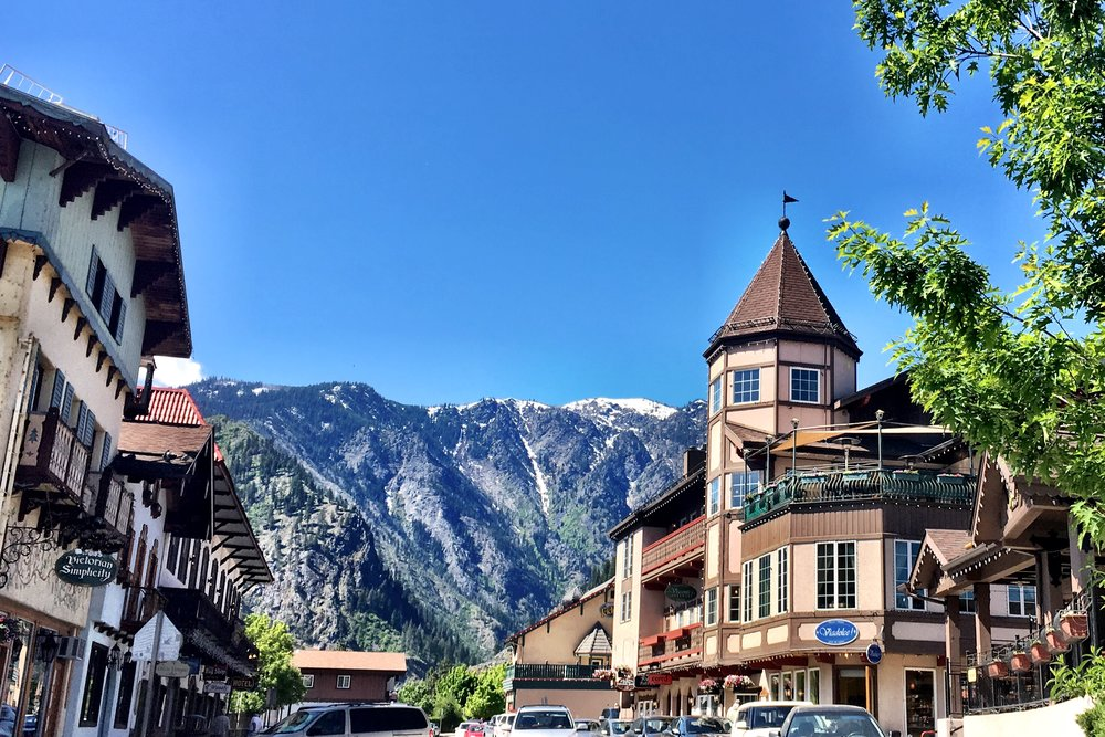 located in the heart of downtown Leavenworth, Washington   visit  www.leavenworth.org  for events and information