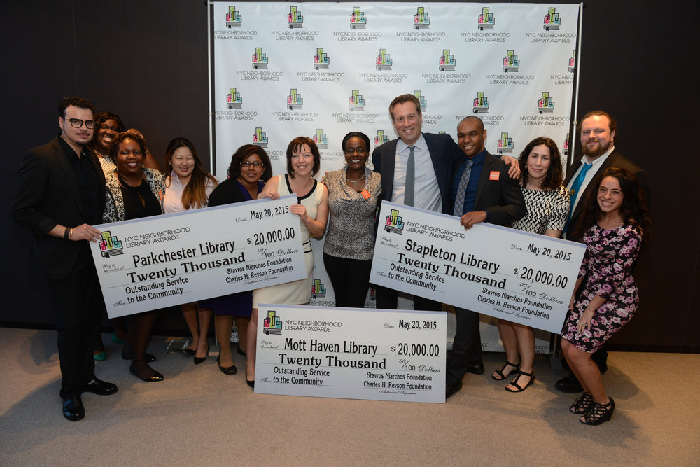 Revson Foundation- Library Awards
