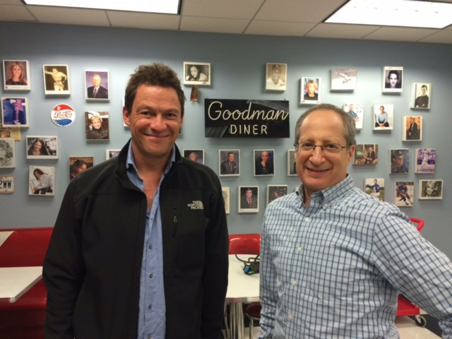 CEO Tom Goodman with actor Dominic West of Showtime's  The Affair.