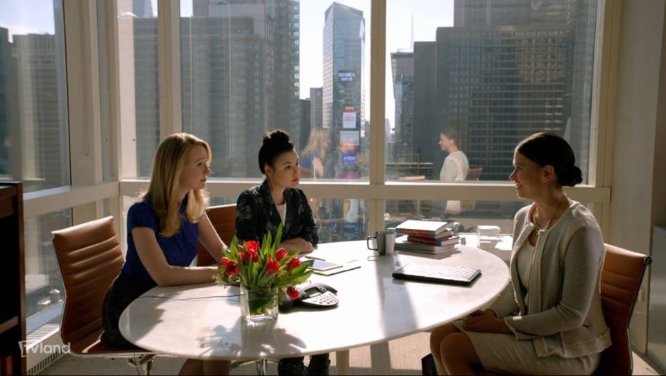The opening scene of TV Land's Younger features our Times Square Conference Room.