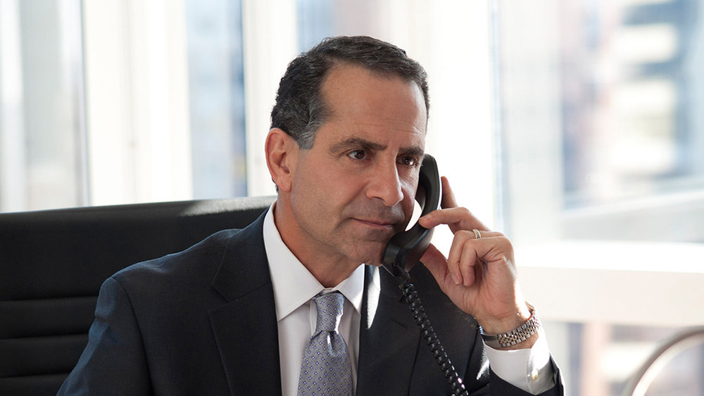 HBO's  Too Big To Fail  actor Tony Shalhoub is pictured in our Times Square conference room.