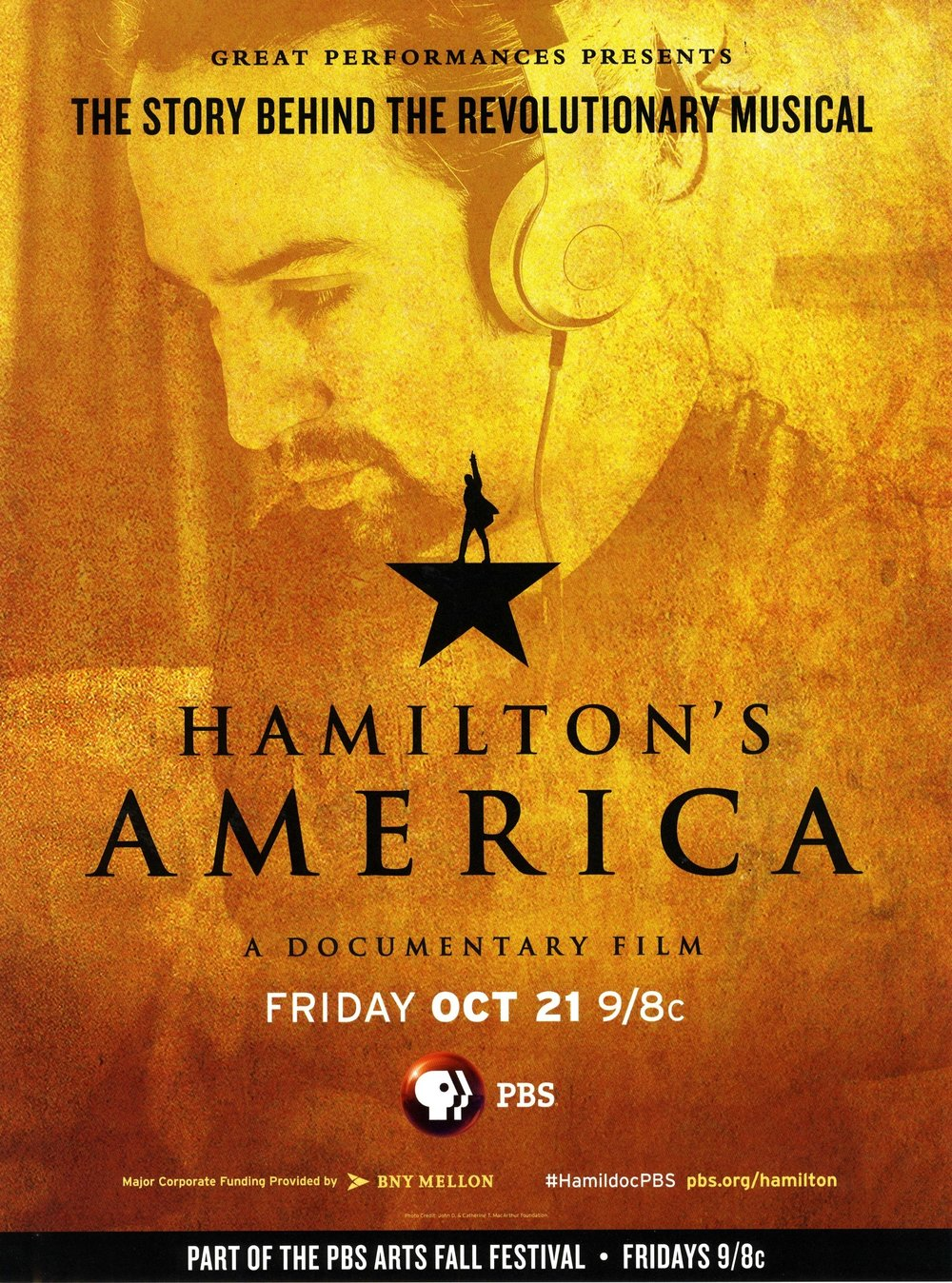 """Hamilton's America"" premieres this Friday, October 21 on PBS. Watch it online now through November 18.   Courtesy of PBS."