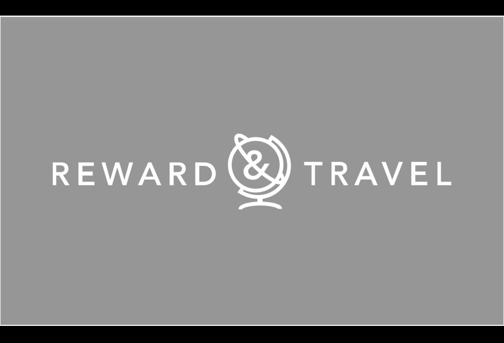 Reward & Travel - Travel site branding.