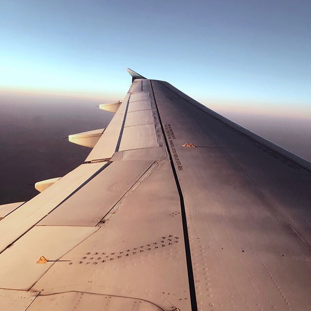 A super busy work life and a shot of warm weather this week are having me dream of vacation. There are plenty of reasons for us to save the money and not go anywhere in the next year but that's just not in our DNA. So where to? ✈️💭 - Also, this is one of my favorite photos I've taken while flying. The wing shot isn't anything new, but catching the light just right always is. . . . . . #travel #flight #plane #views #photography #dreamscpae #dreams #travelling #plans #future #focus #photography #creative #creativity #photosofinsta #sky #upintheair #tbt #hustle #justdoit #chasinglight #focus #infocus #whereto