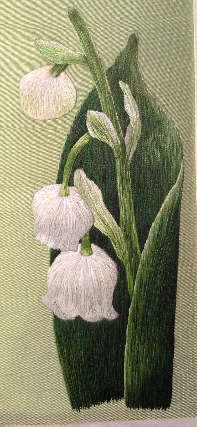 Lily of the Valley Silk Shading