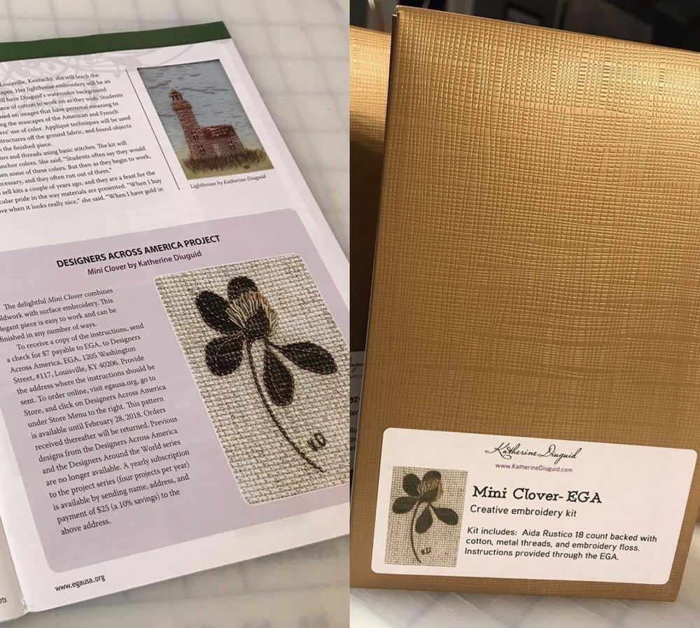 $40 EGA Mini Clover:  Metallic Option Materials Only