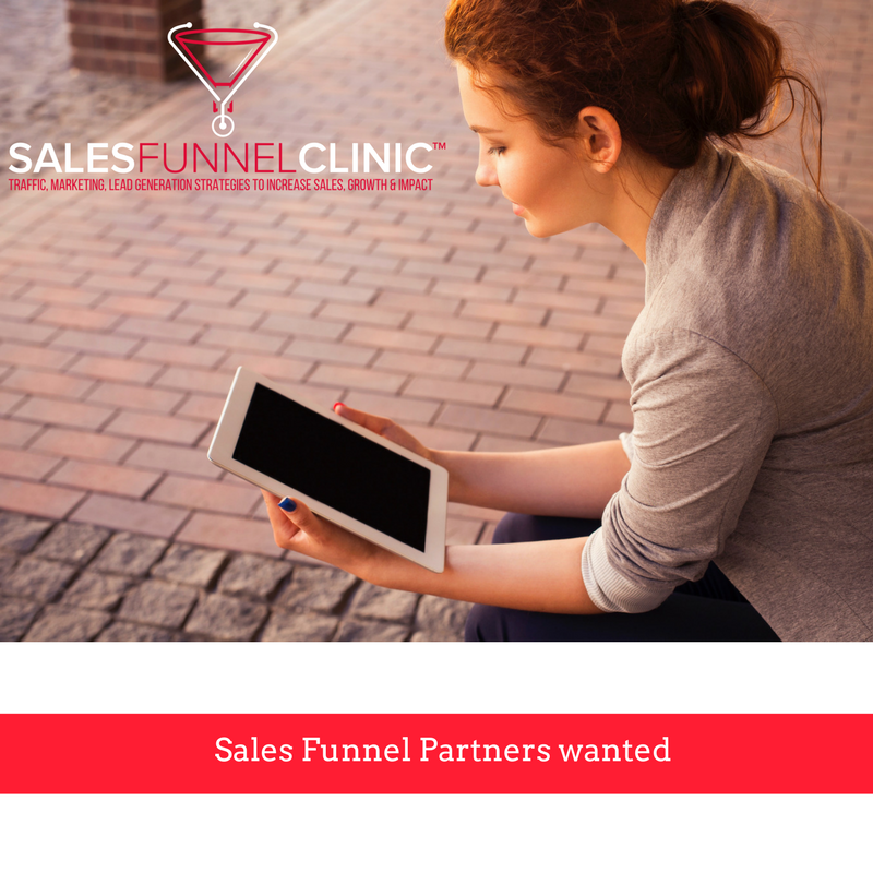 Sales Funnels Partners wanted