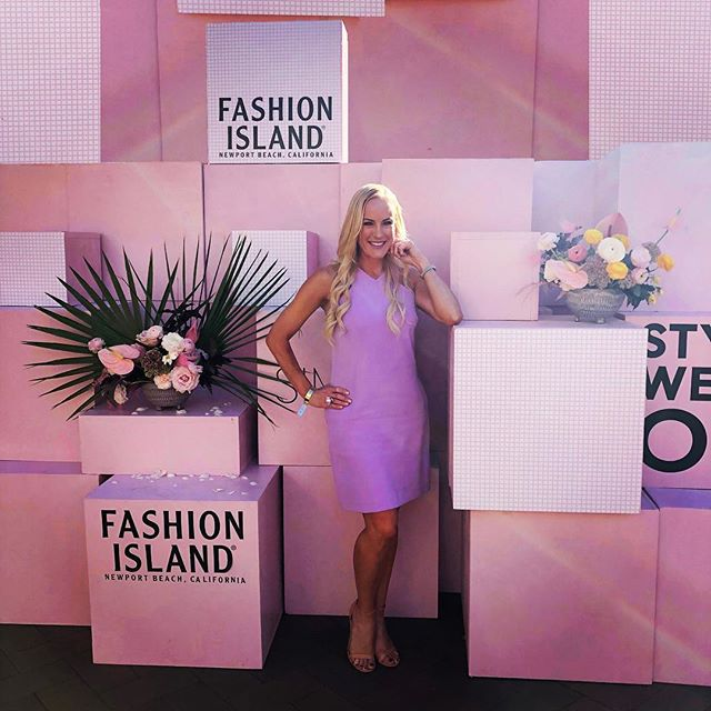 Throwback Thursday to #StyleWeekOC. Still waiting for fall but loving the SoCal endless summer.