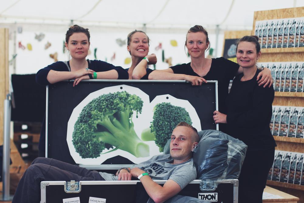 Anna, Lotte, Nanna, Grith & Lars,Aarhus Food Festival 2015