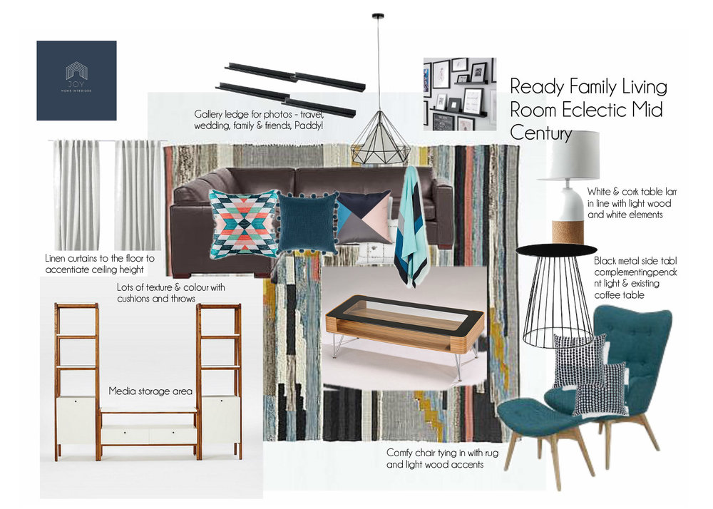 STYLE BOARDS Joy Home Interiors