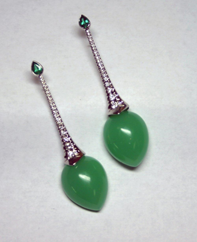 Elegant & Stylized Dangling Earrings