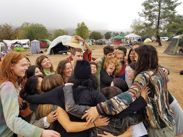 Love is the most powerful force in the Universe. This past week we came together in the name of LOVE and built an entire village full of mystics, yogis, oracles, and healers with the purpose of amplifying and sharing that Love! We lived through the storm by singing and dancing together. We kept each other warm. We had each other's backs. We remembered hundreds of lifetimes spent working together in the name of Oneness... and here we are, doing it all over again! We won't stop. We can't stop. We are inspired. We are family. We are here to change the world. Here's to many more adventures  lucid dreaming, growing and creating together! Thank you @desertdaze_official for having @mystic_bazaar as part of this year's ritual. We look forward to many more ceremonies, songs and dances together. 🙌🏽🌈🌈🌈