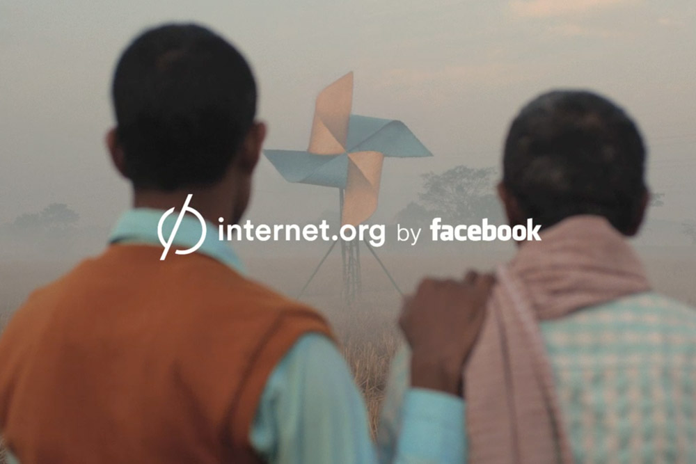 INTERNET.ORG BY FACEBOOK. M & M