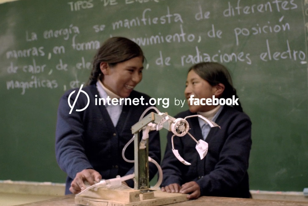 INTERNET.ORG BY FACEBOOK. E & E
