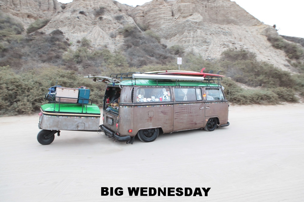 Big Wednesday VW meet at San O