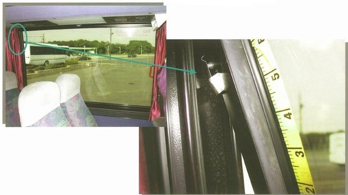 Motor Coach Window Sensors.