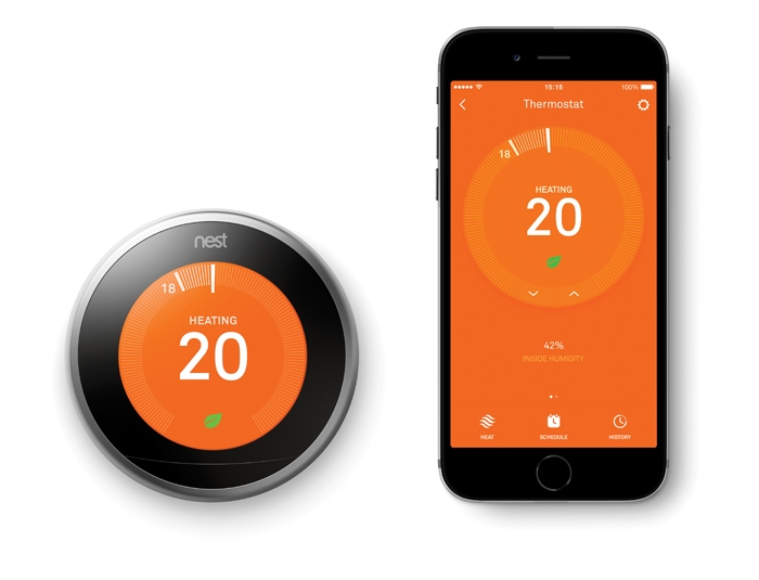 Healthy Living Now, Healthy Living Now Magazine, Healthy Living Now Spring 2017, Healthy Living Now Magazine Spring 2017, Products New & Now, Products New & Now Spring 2017, Dyan Perry, Nest Learning Thermostat 3rd generation