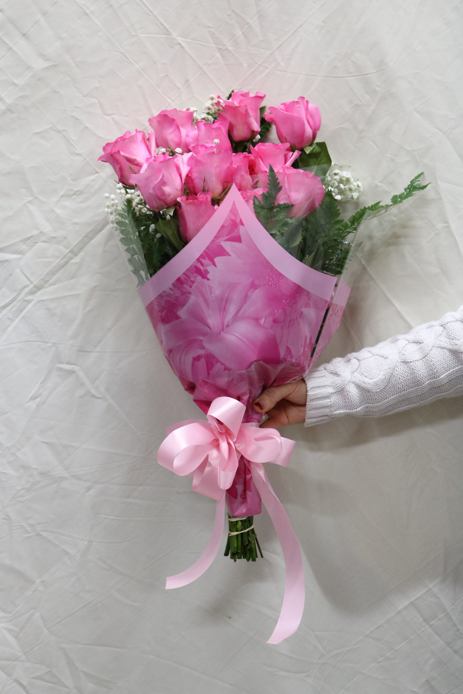 Sweetheart florist pink roses pink roses flower bouquets izmirmasajfo