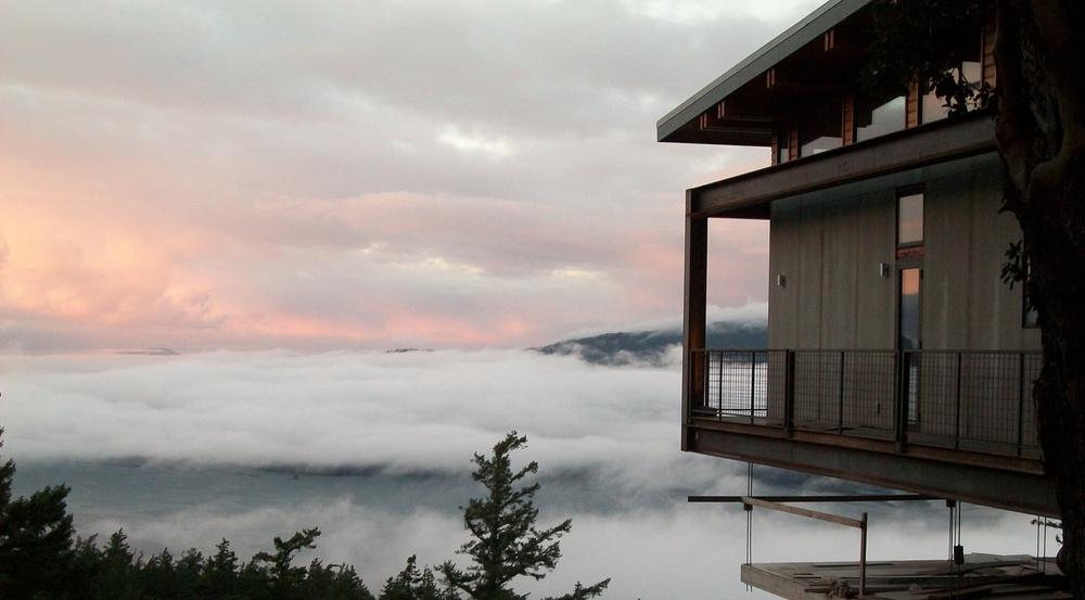exterior fog