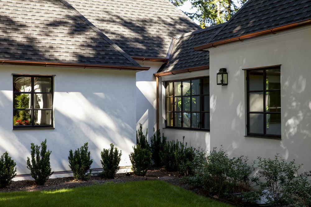 exterior corner