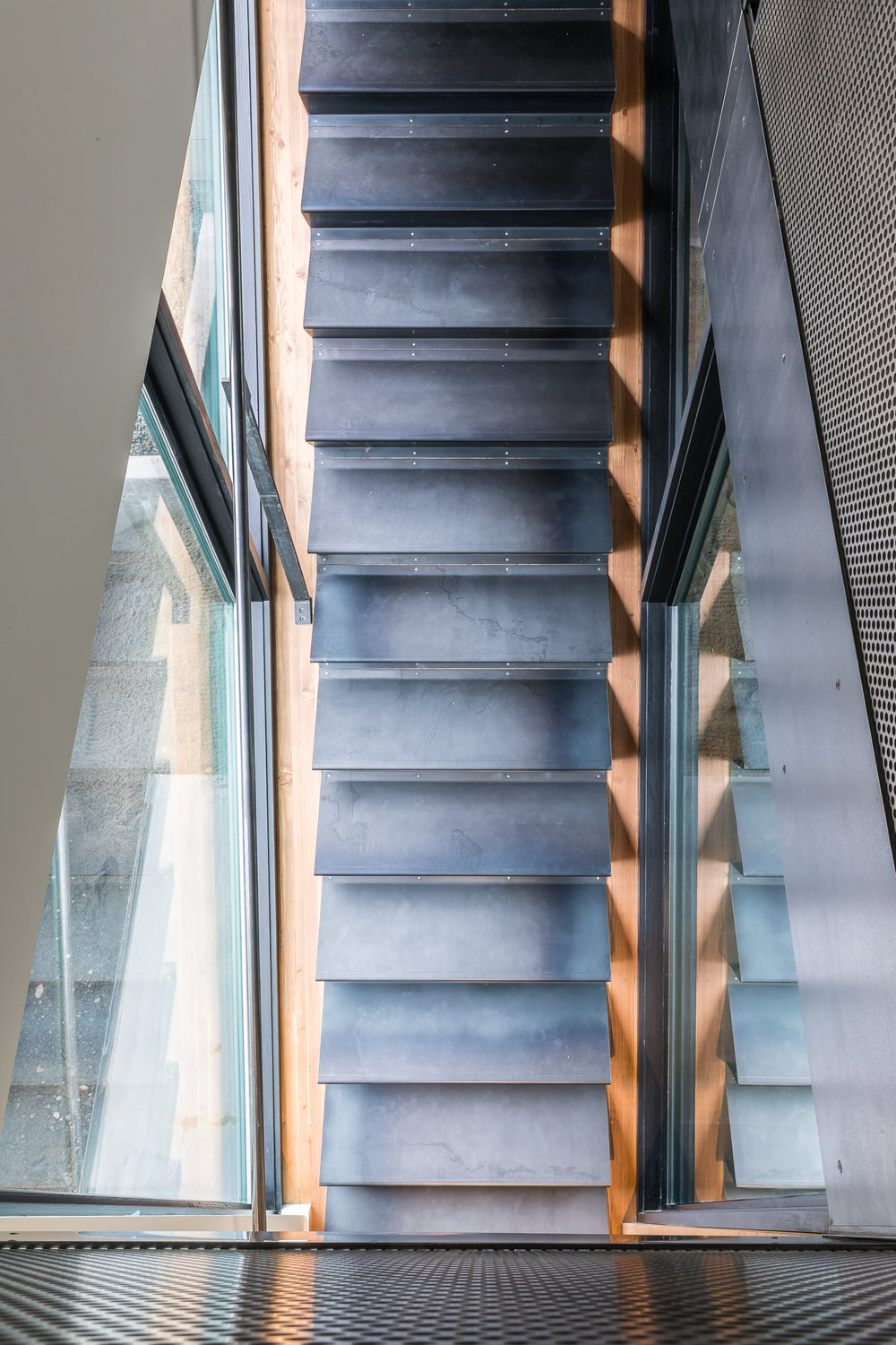 upper stairs