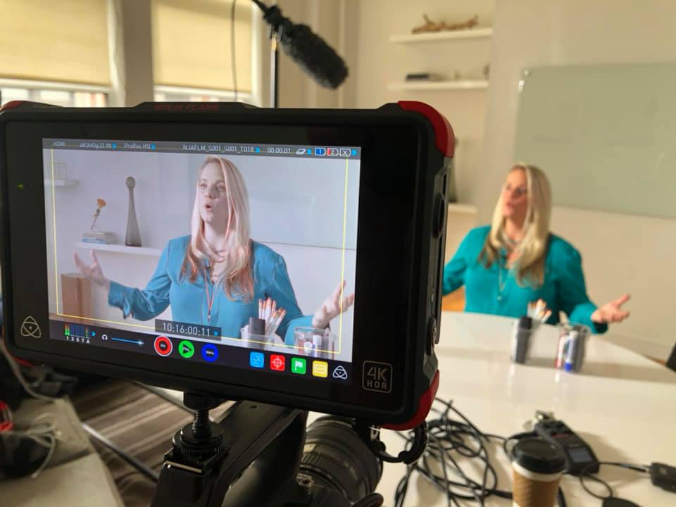 Here, I am explaining how EFT can help teens with stress and anxiety for a docuseries. Docuseries will be released early Fall 2019.