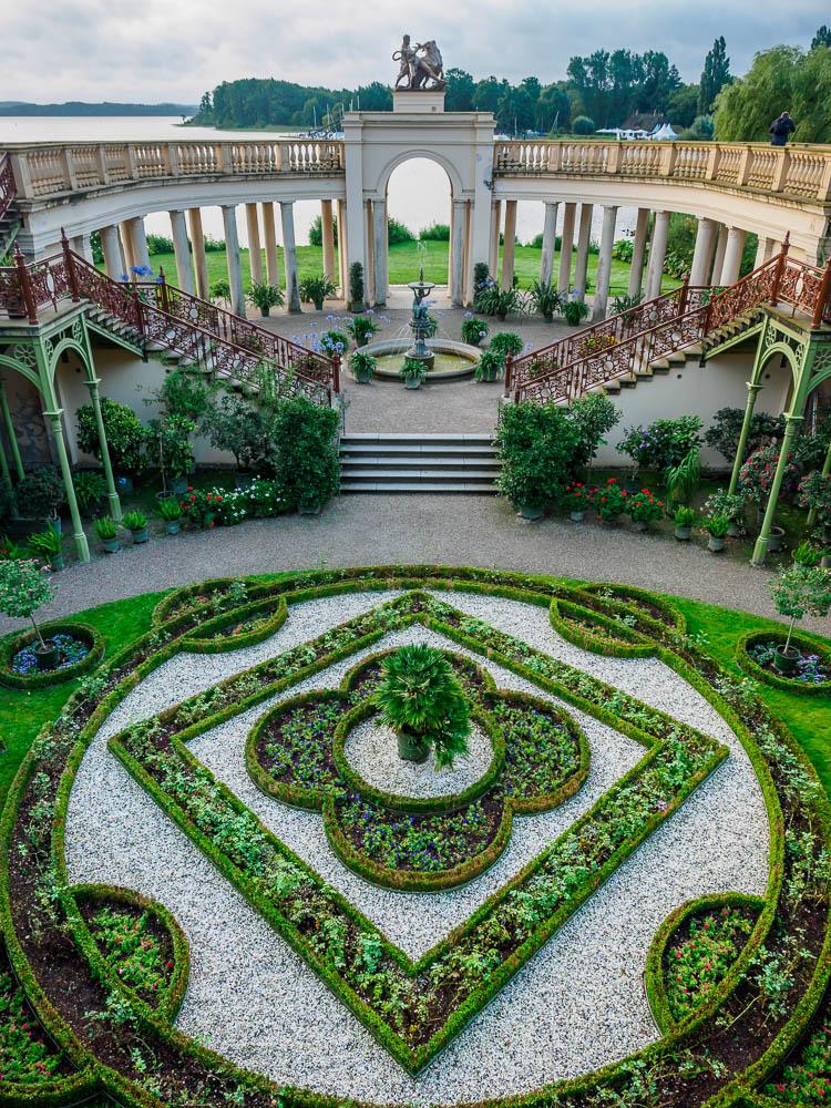 Orangerie und Arkadengang am Schloss Schwerin