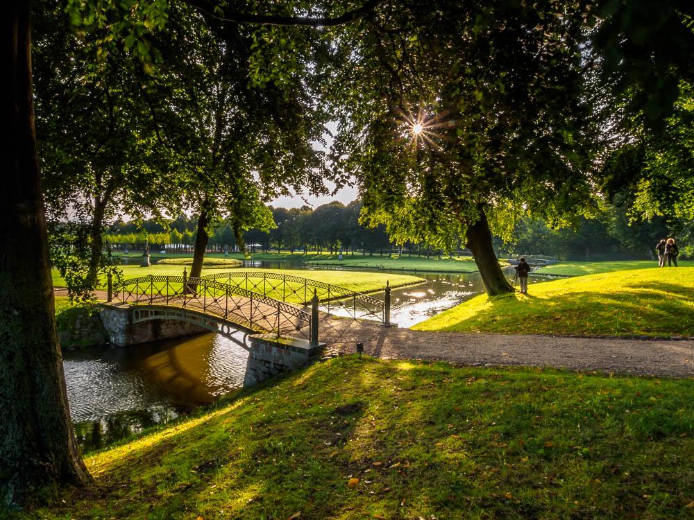 Brücke im Schlosspark Schwerin