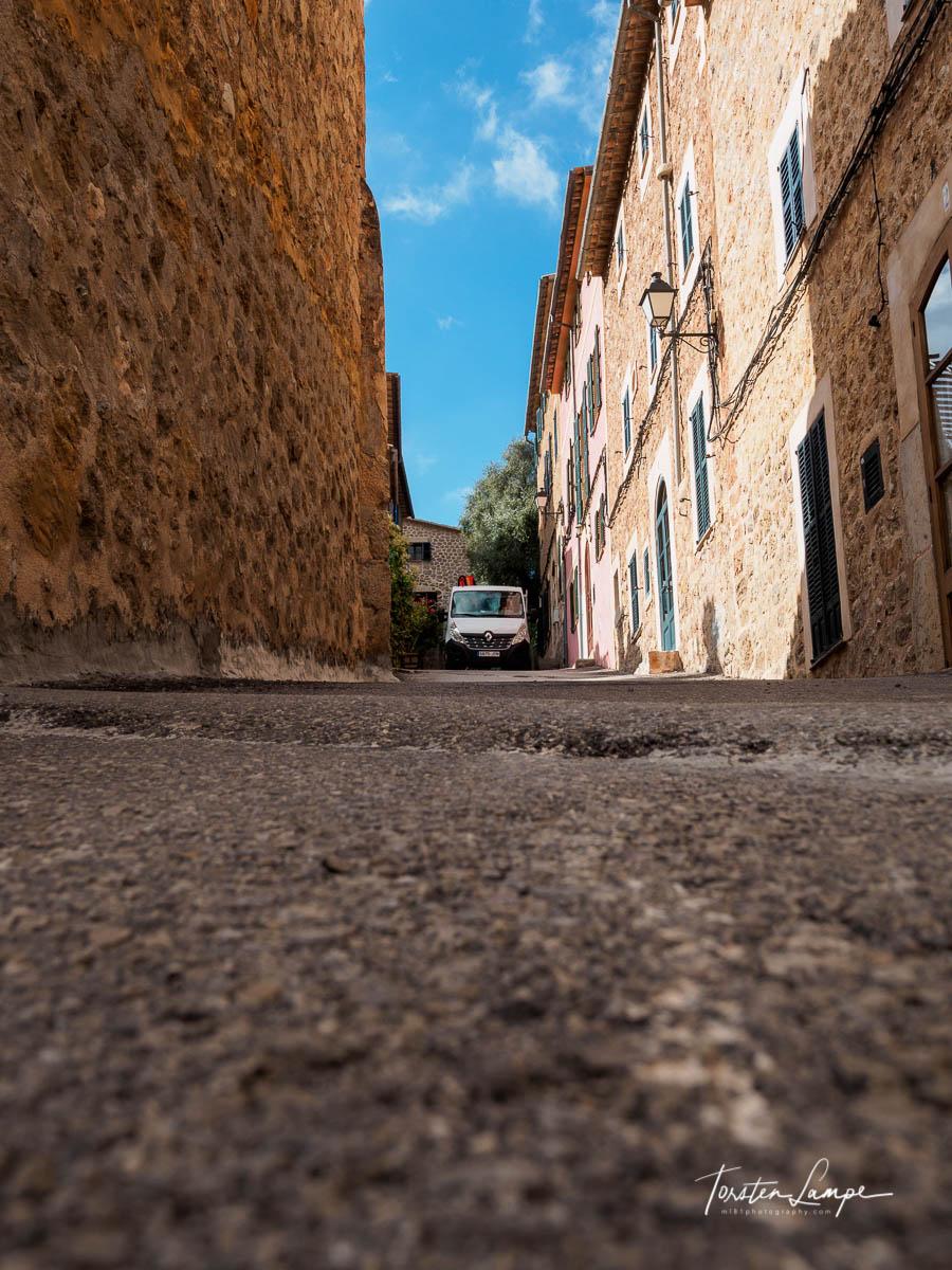 Street in Deià
