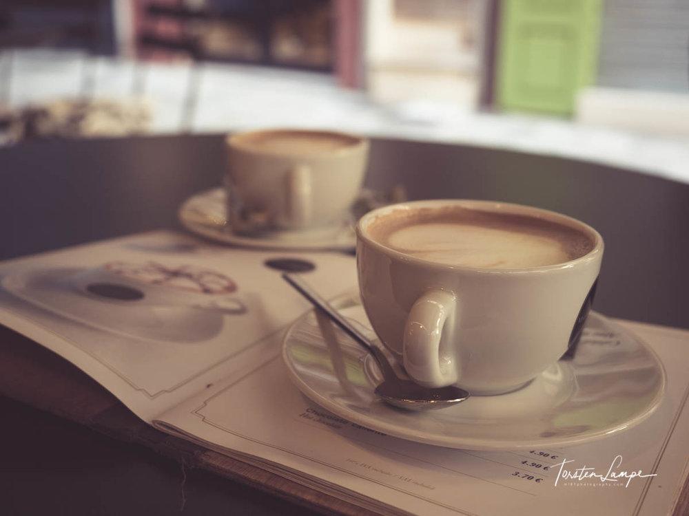 Zeit für einen Café con leche
