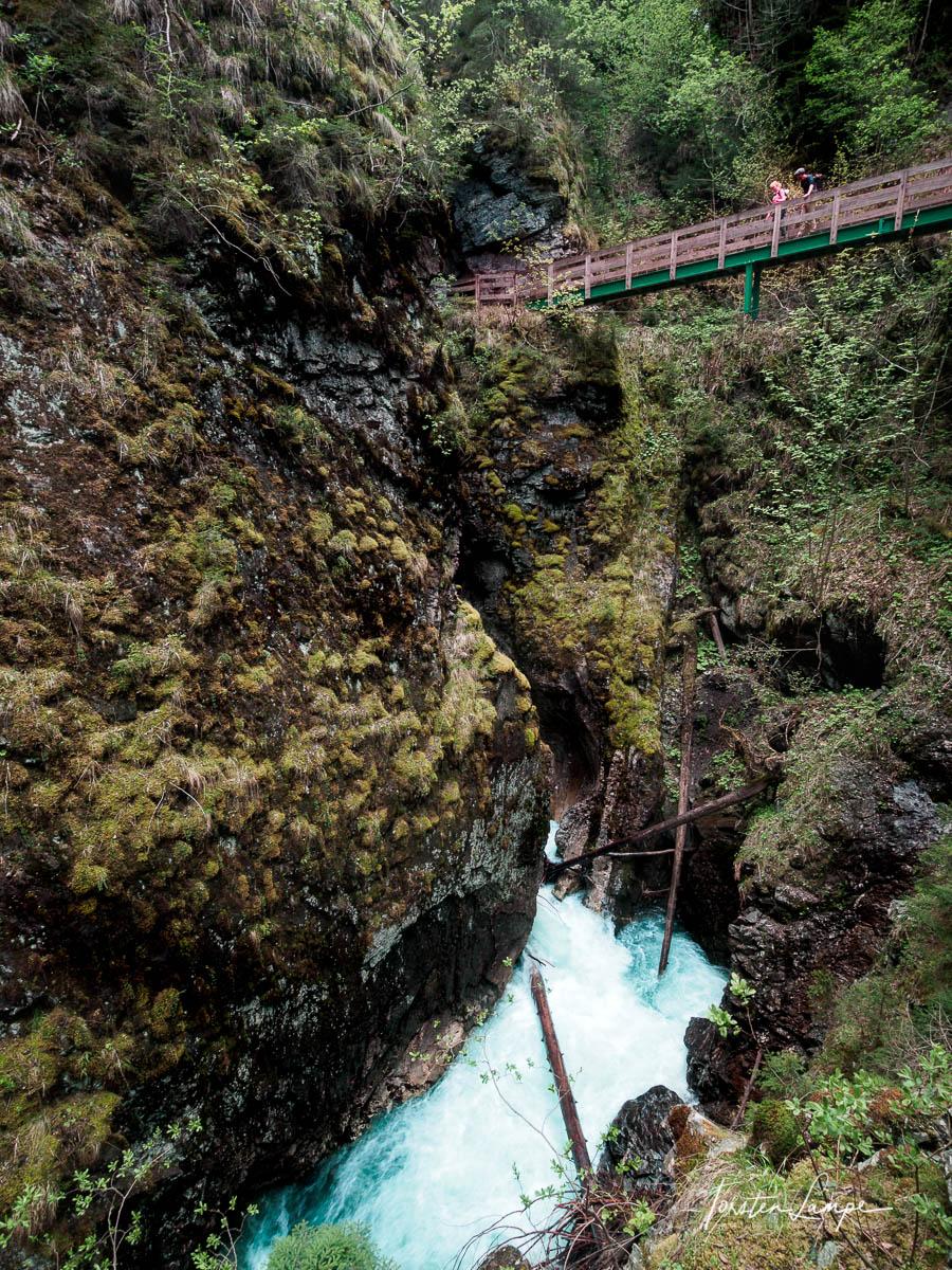 Brücke über die Gilfenklamm
