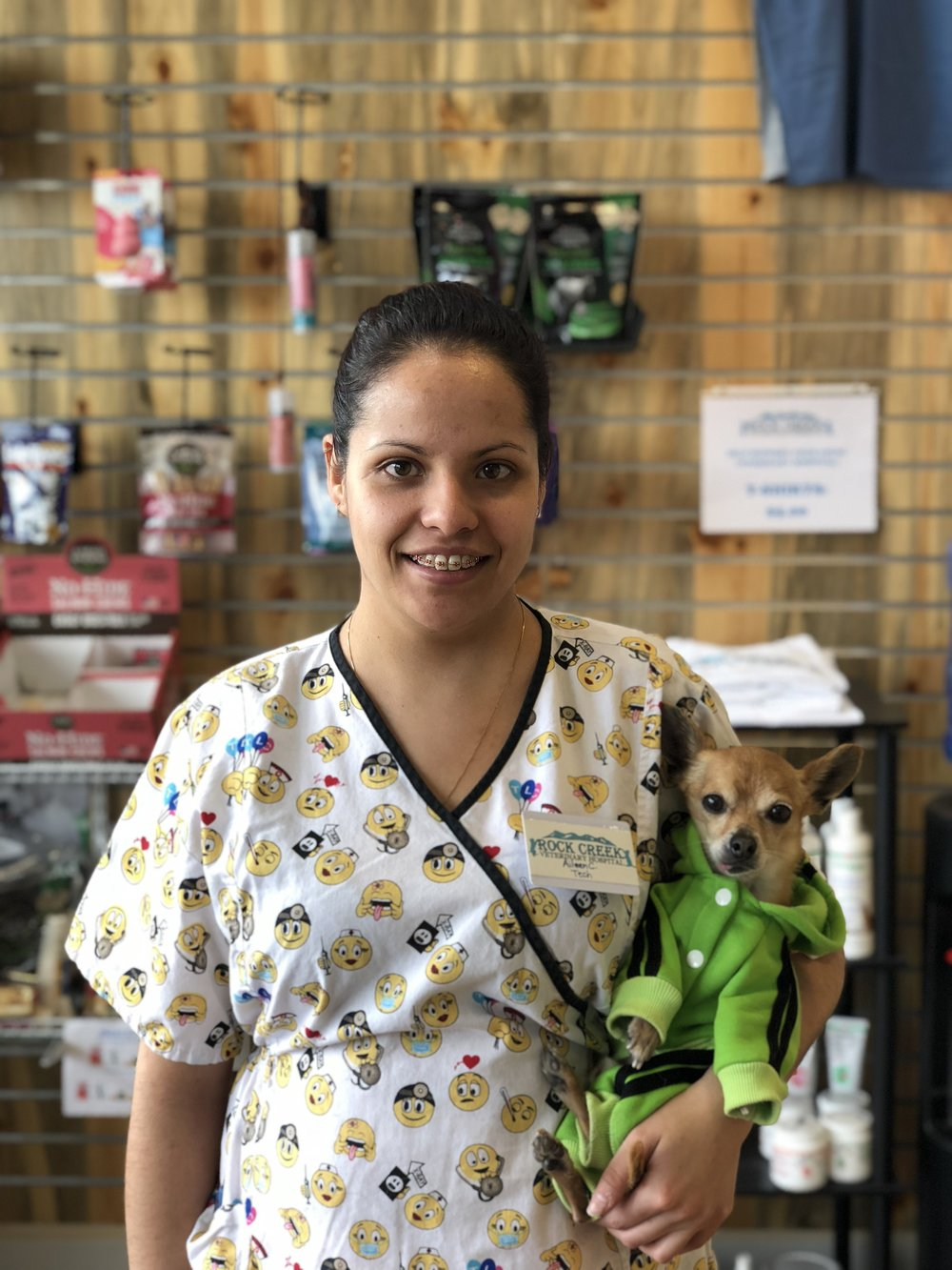 Aileen Chavez - Veterinary Technician