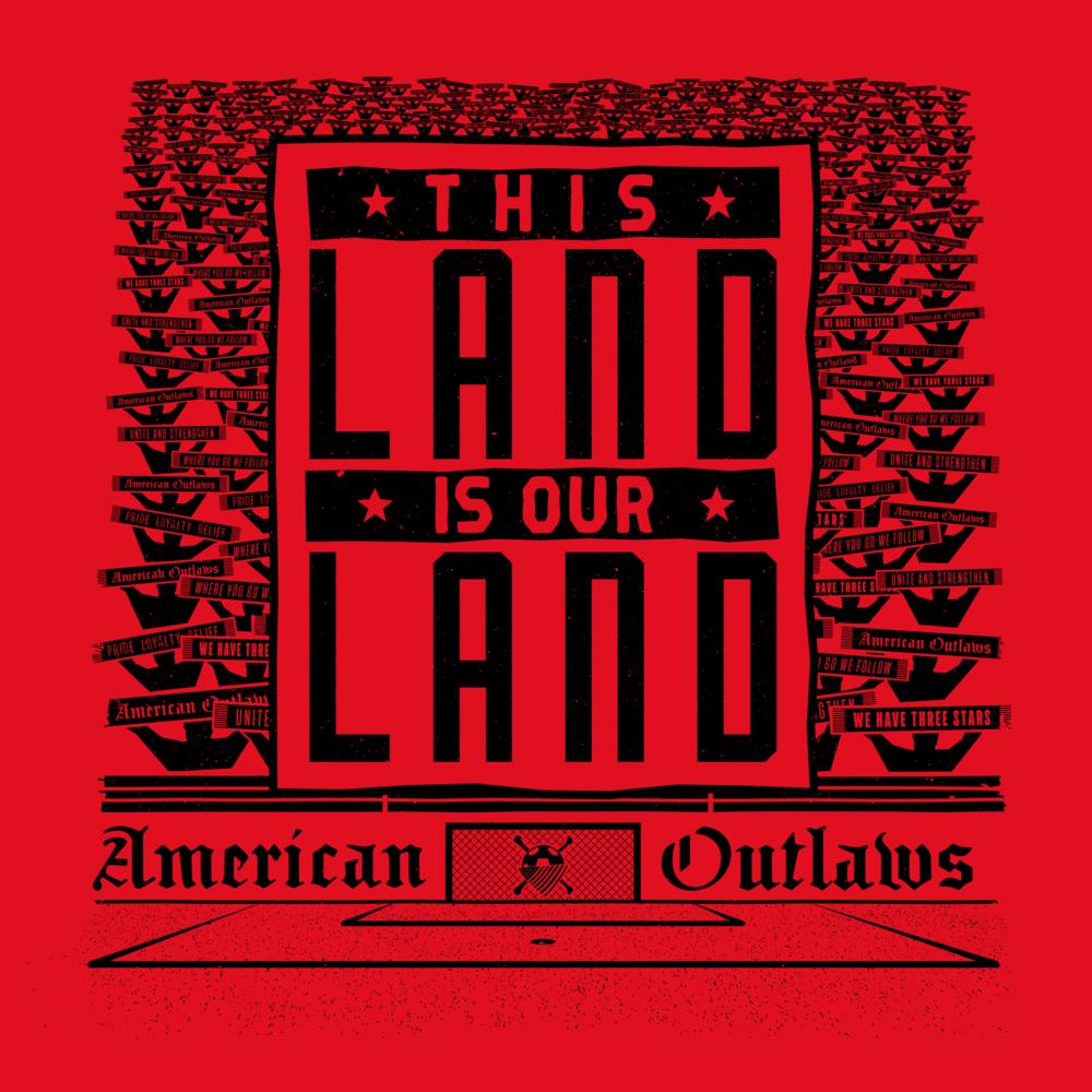 2016 American Outlaws Membership Shirt