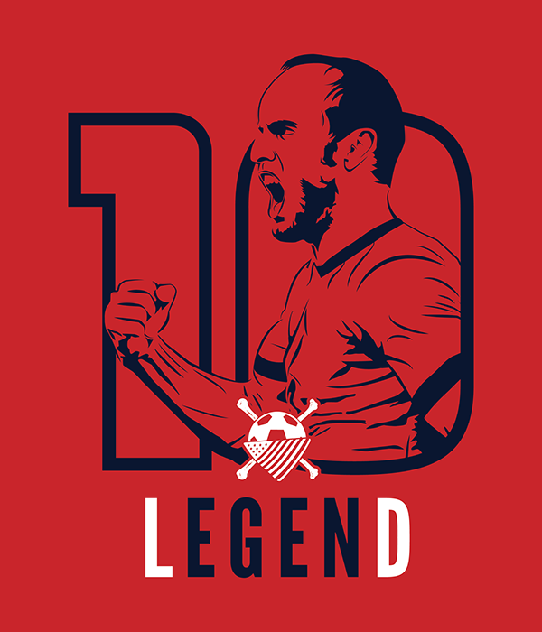 Landon Donovan Retirement T-Shirt Design