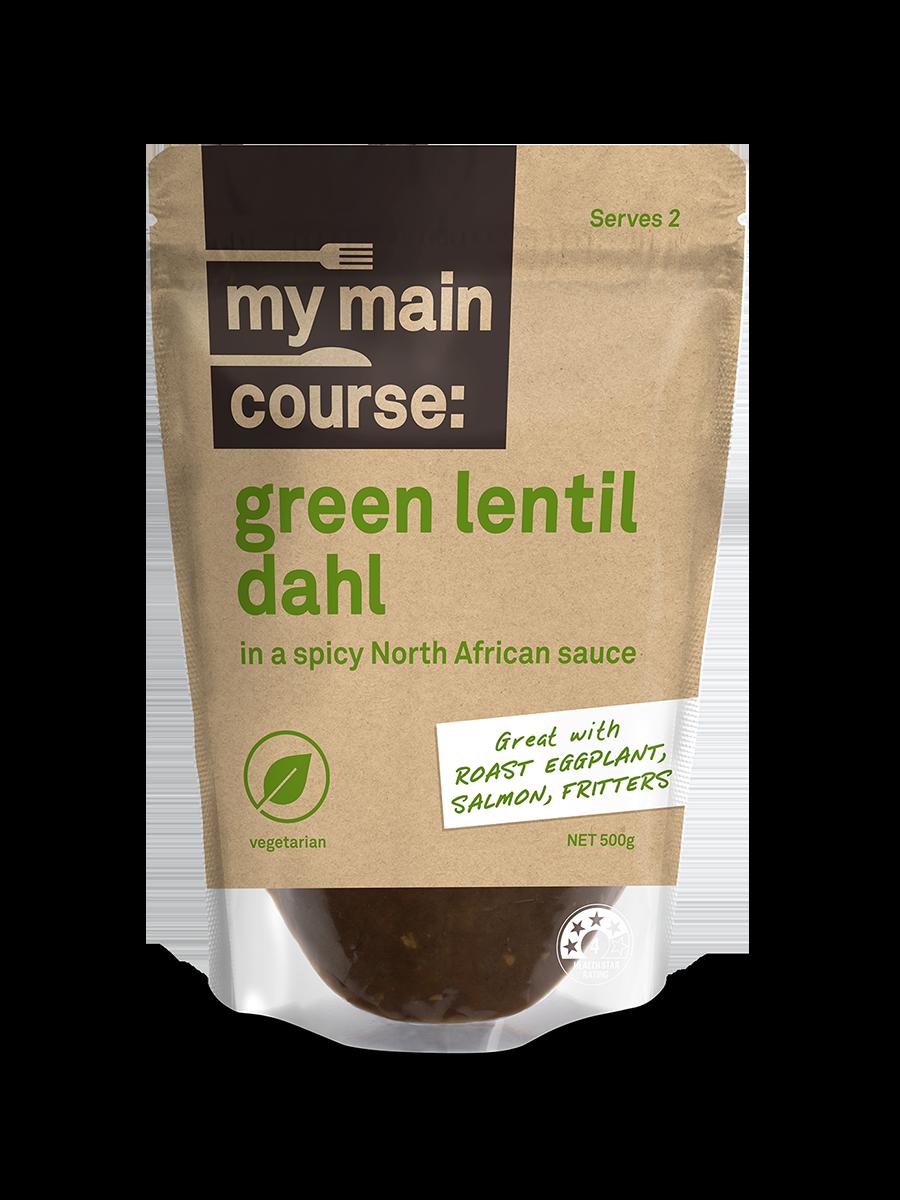 Green Lentil Dahl
