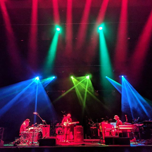 @foxoakland yesterday was a blast. Getting ready to hit show 3/4 supporting @umphreysmcgee tonight at @thewiltern 8PM.  #organfreeman #umphreysmcgee #wiltern #respectmyart