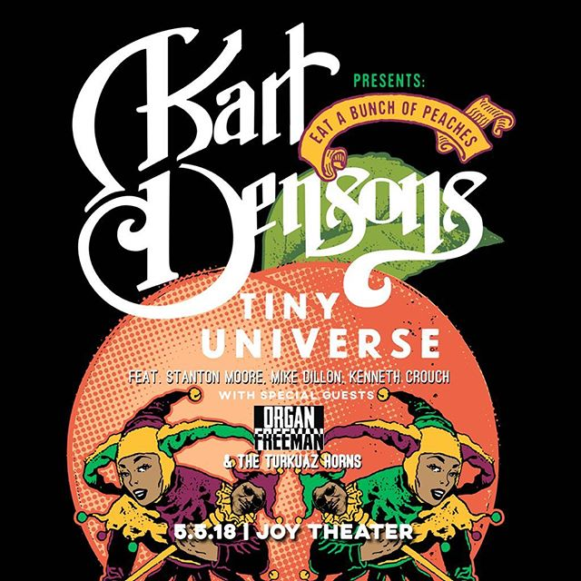 We'll be joining #KarlDensonsTinyUniverse in NOLA next week with the #Turkuaz horns. 🎷 🎹