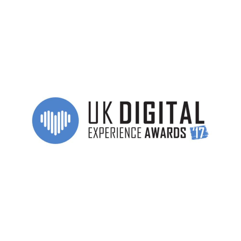 UK Digital Experience Awards (Bronze)