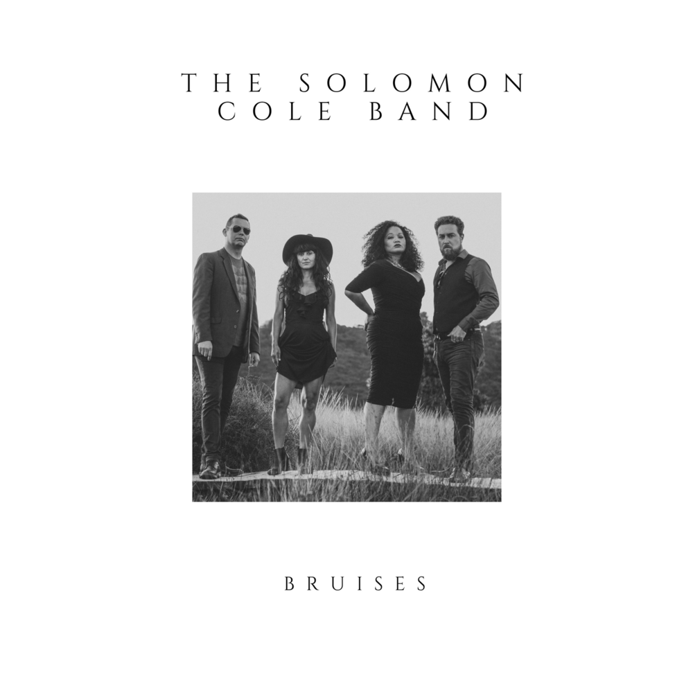- The Solomon Cole BandBruises(Aeroplane)★★★★In a day and age of the body electric, The Solomon Cole Band might seem passe. Don't be fooled though. This four-piece, hewn from the rock that's Waiheke island, has all the hallmarks of classic blues-based rock where Cole's muddy guitar lines are reminiscent of Stevie Ray Vaughan and the Rolling Stones' Keith Richards, who could easily have written the strutting Littler Sister. Cole's vocals are the dark side of Miss Sophie's soulfulness and it works a charm on the ballsy Ring Your Bell and the booze-barn drive of Sweet Ruby. With a tight rhythm tension that has the elasticity of a bungee rope, The Solomon Cole Band have hit the motherlode.Mike Alexander