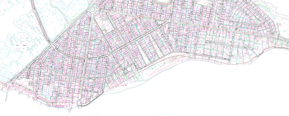 Lordship Elevation Map, Stratford, CT