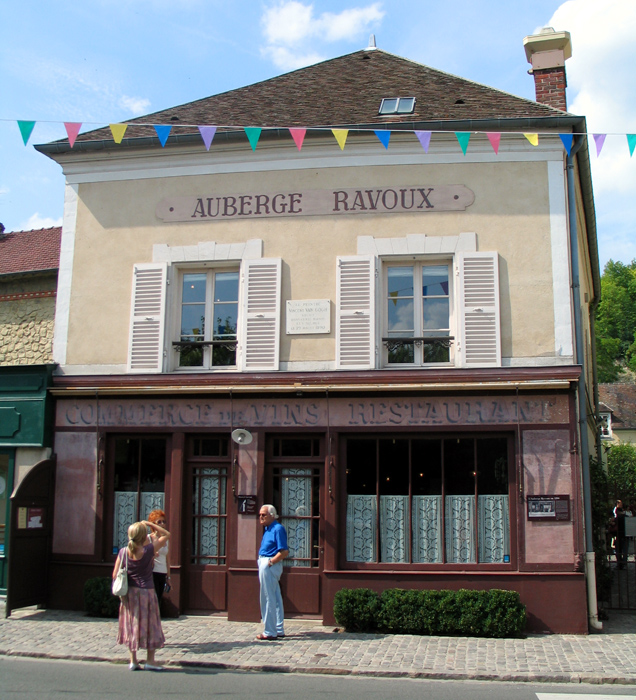 The Auberge Ravoux, where Vincent Van Gogh died