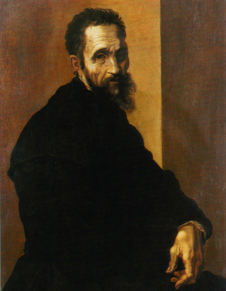Jacopino del Conte, Portrait of Michelangelo at 60, after 1535