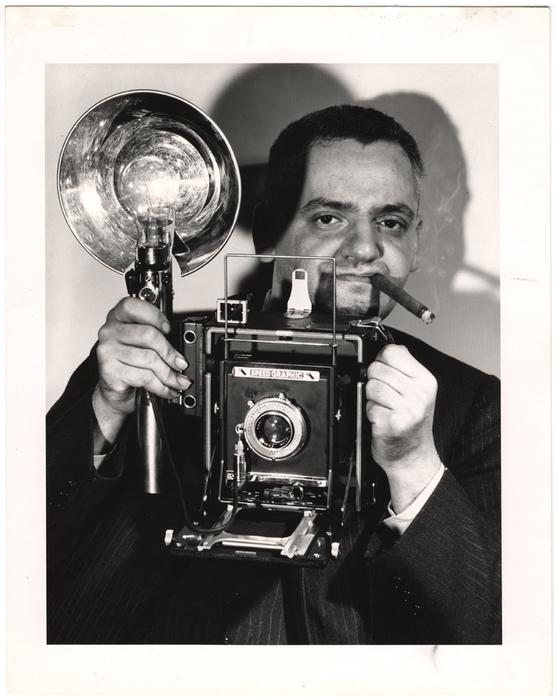 Weegee (Arthur Fellig), Self Portrait